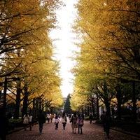 Photo taken at Aoyama Gakuin University by min on 11/11/2012