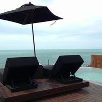 Photo taken at Silavadee Pool Spa Resort by Shoko Y. on 8/24/2013