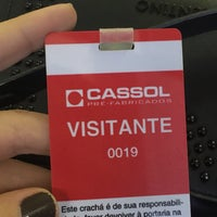 Photo taken at Cassol Pré Fabricados by Marina M. on 5/11/2017