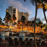 Photo taken at Caribe Hilton by Jorge M. on 7/25/2013