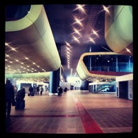 Photo taken at Roma Tiburtina Railway Station (IRT) by Francesca M. on 10/31/2012