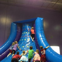Photo taken at Pump It Up by Jamie O. on 3/29/2014