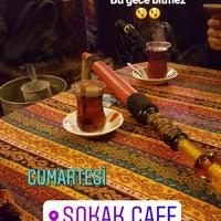 Photo taken at Sokak Cafe by Zeynep D. on 11/4/2017