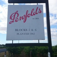 Photo taken at Penfolds by Mar H. on 2/18/2014