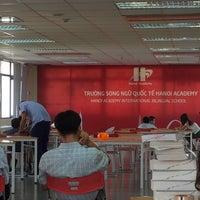 Photo taken at Hanoi Academy School by Alexander H. on 7/26/2016