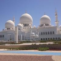 Photo taken at Masjid Sheikh Mansoor Bin Zayed Al Nahyan by Lopy on 5/2/2015