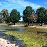 Photo taken at Shamrock lake by Cynthia on 10/12/2013