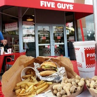 Photo taken at Five Guys by Kevin S. on 11/29/2012