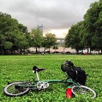 Photo taken at Astoria Park by Dan G. on 6/30/2013