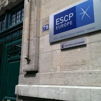 Photo taken at ESCP Europe by Quentin_Lib on 6/18/2013