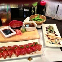 Photo taken at Sushi Zen by Carlos S. on 4/23/2013