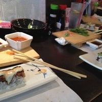 Photo taken at Sushi Zen by Carlos S. on 5/3/2013
