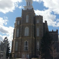 Photo taken at Logan Utah Temple by L. M. on 3/30/2013