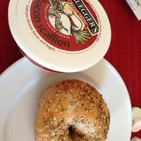 Photo taken at Bruegger's Bagels by Jeff W. on 4/20/2013