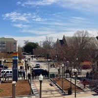 Photo taken at Decatur Square by Charles H. on 2/14/2013