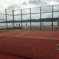 Photo taken at Clube de Padel by Tiago S. on 4/7/2013