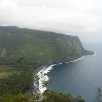 Photo taken at Waipiʻo Valley by Amanda T. on 3/14/2013
