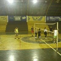 Photo taken at Ginásio Poliesportivo Francisco Limonti by Ivan B. on 11/27/2012
