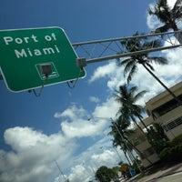 Photo taken at PortMiami by Jeff V. on 9/28/2012