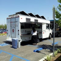 Photo taken at Crepes Bonaparte Truck by char z. on 4/14/2014