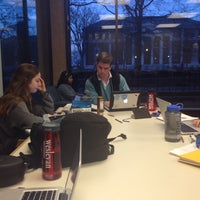 Photo taken at Wesleyan University Science Library by Brenna D. on 3/1/2016