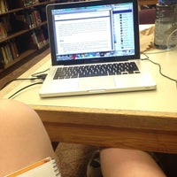 Photo taken at Wesleyan University Science Library by Brenna D. on 5/12/2016