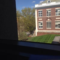 Photo taken at Wesleyan University Science Library by Brenna D. on 5/8/2016