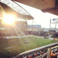 Photo taken at Investors Group Field by Jill L. on 6/13/2013