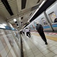 5/22/2018にmikku 未来が東西線 飯田橋駅 2番線ホームで撮った写真