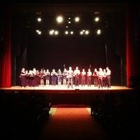 Photo taken at Teatro Municipal de Limeira by Paula P. on 12/2/2012