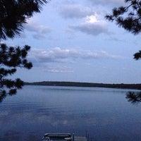 Photo taken at Pickerel lake by Scott K. on 7/20/2013