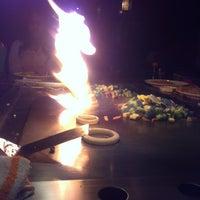 Photo taken at Kobe Japanese Steak House by Fresco R. on 2/2/2013