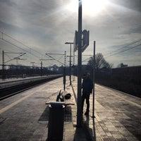 Photo taken at Bahnhof Rendsburg by Jens S. on 2/26/2014