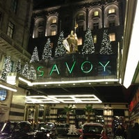 Photo taken at The Savoy Hotel by Jeremy W. on 12/7/2012