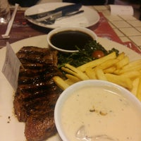 Photo taken at Steak Hotel by Holycow! TKP Radal by Sarah G. on 4/27/2016