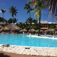 Photo taken at Pool Iberostar Punta Cana & Dominicana by Laureen H. on 11/12/2012