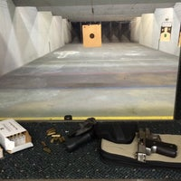 Photo taken at Nice Shot - Redding Indoor Shooting Range and Training by Anne on 3/20/2015