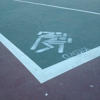 Photo taken at Marina Vista Tennis Courts by Fabian G. on 10/7/2013