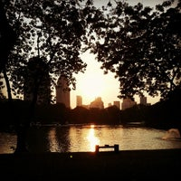 Photo taken at Lumphini Park by Meawon C. on 3/10/2013