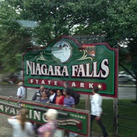 Photo taken at Niagara Falls State Park by Luciana F. on 7/27/2013