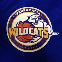 Photo taken at Parramatta Basketball Stadium by Luc H. on 9/11/2013