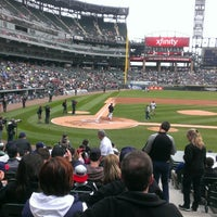 Photo taken at Guaranteed Rate Field by Ann Marie A. on 4/28/2013