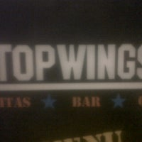 Photo taken at Top Wings by Karin G. on 1/19/2013