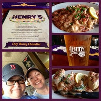 Photo taken at Henry's Louisiana Grill by Scott D. on 4/16/2013