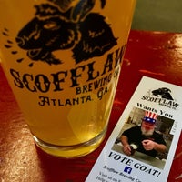 Photo taken at Scofflaw Brewing Co. by Scott D. on 3/5/2017