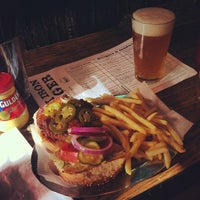 Photo taken at Black Iron Burger by Sameer on 10/20/2012