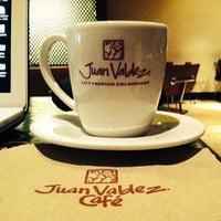 Photo taken at Juan Valdez Café by Sameer on 9/27/2013