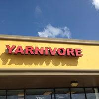 Photo taken at Yarnivore by Jess M. on 10/12/2013