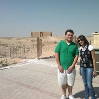Photo taken at Qasr Kharana by Anas A. on 9/17/2012