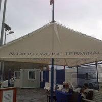 Photo taken at Naxos Cruise Terminal by Giulio S. on 10/5/2013